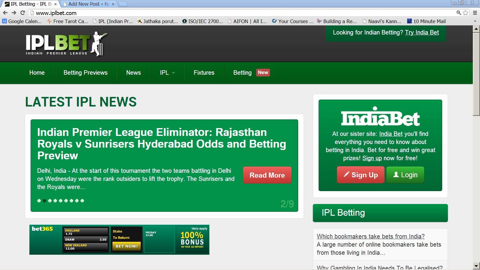 Online betting in ipl 7 schedule betting odds api